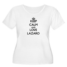 Keep Calm and Love Lazaro Plus Size T-Shirt