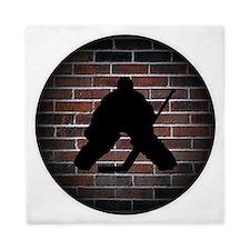 Hockey Goalie Queen Duvet