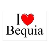 &quot;I Love Bequia&quot; Postcards (Package of 8)