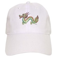 Oriental Dragon Baseball Cap
