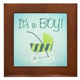 It's a Boy! - Framed Tile