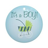 It's a Boy! - Ornament (Round)