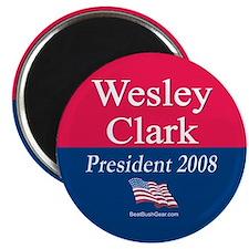 """Wesley Clark for President"" Magnet"