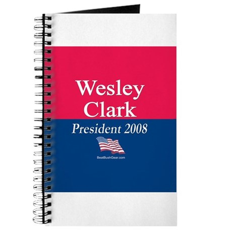 &amp;quot;Wesley Clark for President&amp;quot; Journal