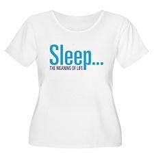 Sleep Plus Size T-Shirt
