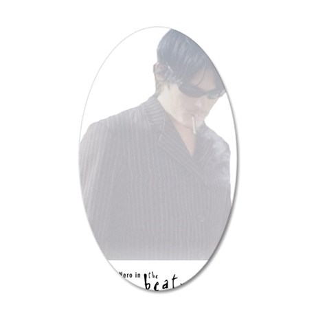 the beatnicks norman reedus 35x21 Oval Wall Decal