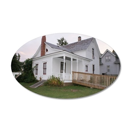 Villisca by Chad 35x21 Oval Wall Decal