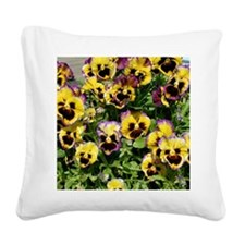 Fizzy Lemonberry Throw Pillow Square Canvas Pillow