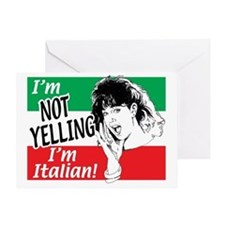 Italian Girl Greeting Card