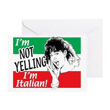 Italian Girl Greeting Card