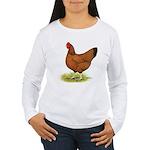 Red Hen Women's Long Sleeve T-Shirt