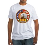 Masonic Vietnam Veteran Fitted T-Shirt