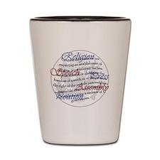 1st Amendment Shot Glass