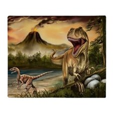 Predator Dinosaurs Blanket