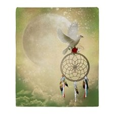 Dove Dreamcatcher Blanket