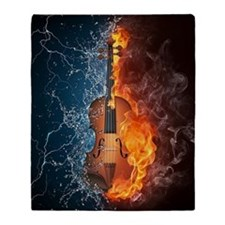 Fire and Water Violin Blanket