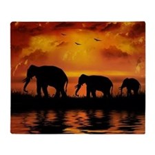 Elephant Safari Blanket
