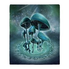 Mystic Mushrooms Blanket