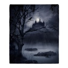 Gothic Night Fantasy Blanket