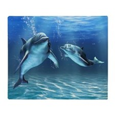 Dolphin Dream Blanket