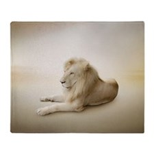 White Lion Blanket