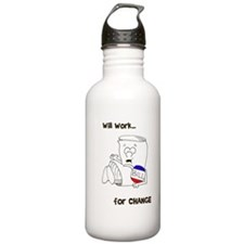 SR bill colored Sports Water Bottle