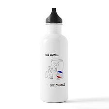 SR bill colored Sports Water Bottle