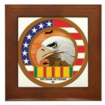 Masonic Vietnam Veteran Framed Tile