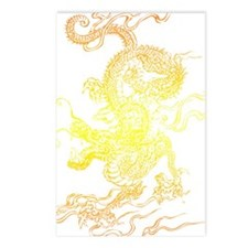 dragon_sunset Postcards (Package of 8)