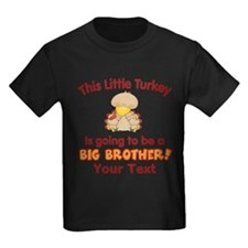Big Brother Turkey Personalized T-Shirt