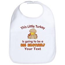 Big Brother Turkey Personalized Bib