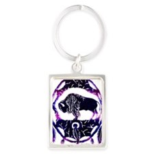 dream catcher Portrait Keychain