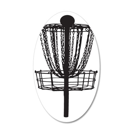 DG Basket 35x21 Oval Wall Decal