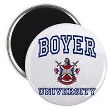 "BOYER University 2.25"" Magnet (100 pack)"