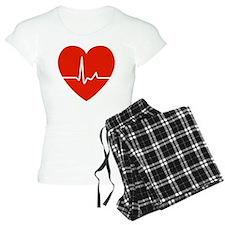 HeartBeatsRed Pajamas