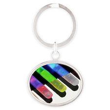 lom Oval Keychain