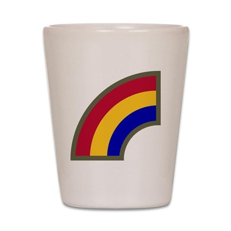 42nd Infantry Division Shot Glass