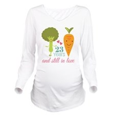 23 Year Anniversary Veggie Couple Long Sleeve Mate