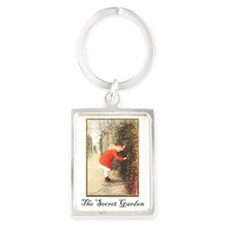 Secret-Garden Portrait Keychain