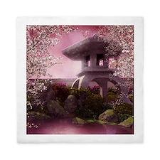 Oriental Garden Queen Duvet Cover