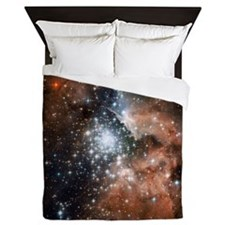 NGC3603 Nebula Queen Duvet Cover