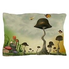 Strange Mushrooms Pillow Case