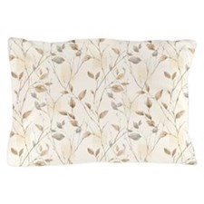 Autumn Leaf Pattern Pillow Case