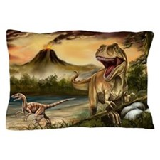 Predator Dinosaurs Pillow Case