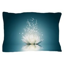 White Lotus Magic Pillow Case
