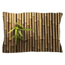 Bamboo Wall Pillow Case