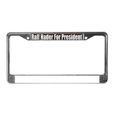 Ralf-Nader-For-President-Bumpe License Plate Frame