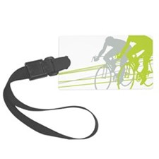 Bicycle Racers Luggage Tag