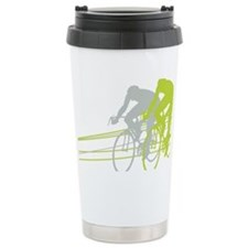 Bicycle Racers Ceramic Travel Mug