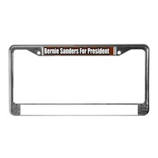 Bernie-Sanders-For-President-B License Plate Frame